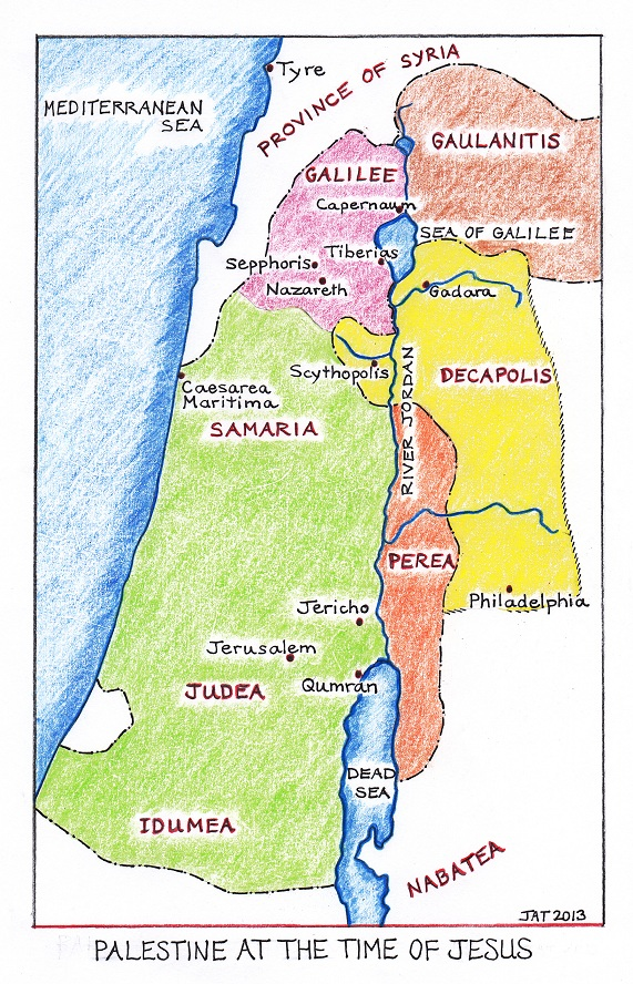Map of Palestine 2