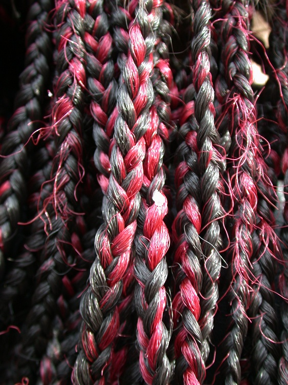 Think of your life as a series of braids. You can see the individual strands of heart, mind, body, and soul, but you do your best to weave them together into braids that are much stronger together than individual strands alone.