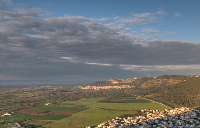 View of the Galilee from Mount Tabor ((c) Free Israel Photos)