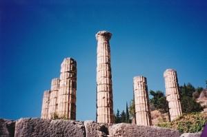Temple of Apollo, Delphi 2